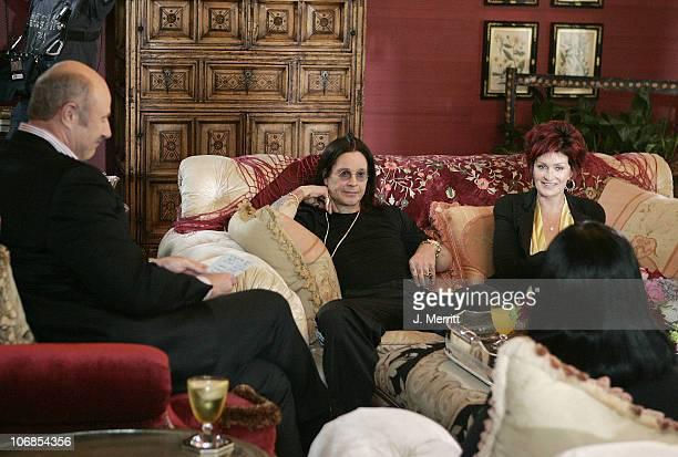 Kelly Osbourne Dr Phil Ozzy Osbourne and Sharon Osbourne **exclusive**