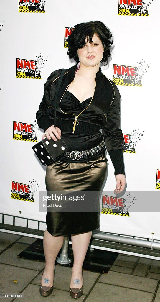 Kelly Osbourne during NME Awards 2002 at Hammersmith Palais in London Great Britain