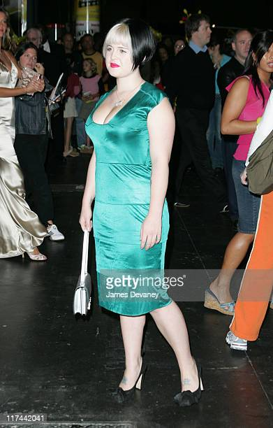 Kelly Osbourne during ''Taxi'' New York Premiere Arrivals at Jacob Javits Center in New York City New York United States