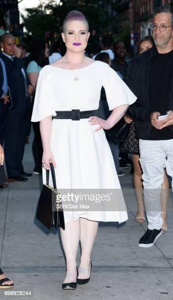 Kelly Osbourne is seen on June 20 2017 in New York City