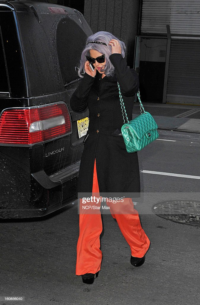 Kelly Osbourne is sighted on February 6, 2013 in New York City.