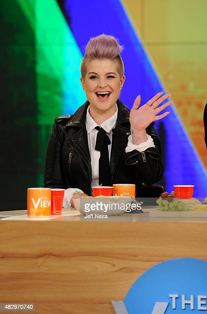 THE VIEW Kelly Osbourne is the guest cohost today Tuesday August 4 2015 Guests include Nancy Grace and Dr Richard Besser on ABC's 'The View' 'The...