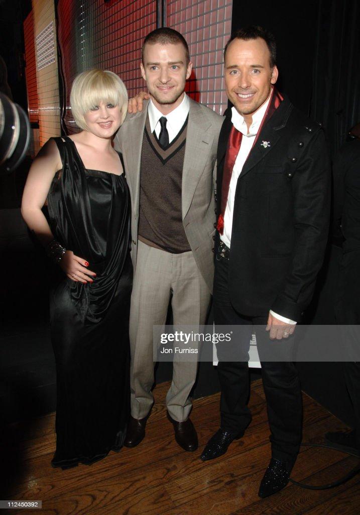 Kelly Osbourne, Justin Timberlake and David Furnish