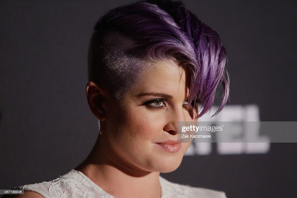 Kelly Osbourne poses for the announcement that Kelly Osbourne will be Australia's Next Top Model guest judge at the film set in Surry Hills on...