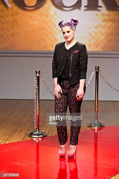 ROCK 'Kelly Osbourne Rocks the Red Carpet' Episode 103 Pictured Guest judge Kelly Osbourne