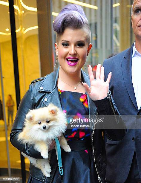 Kelly Osbourne seen out on November 12 2015 in New York City