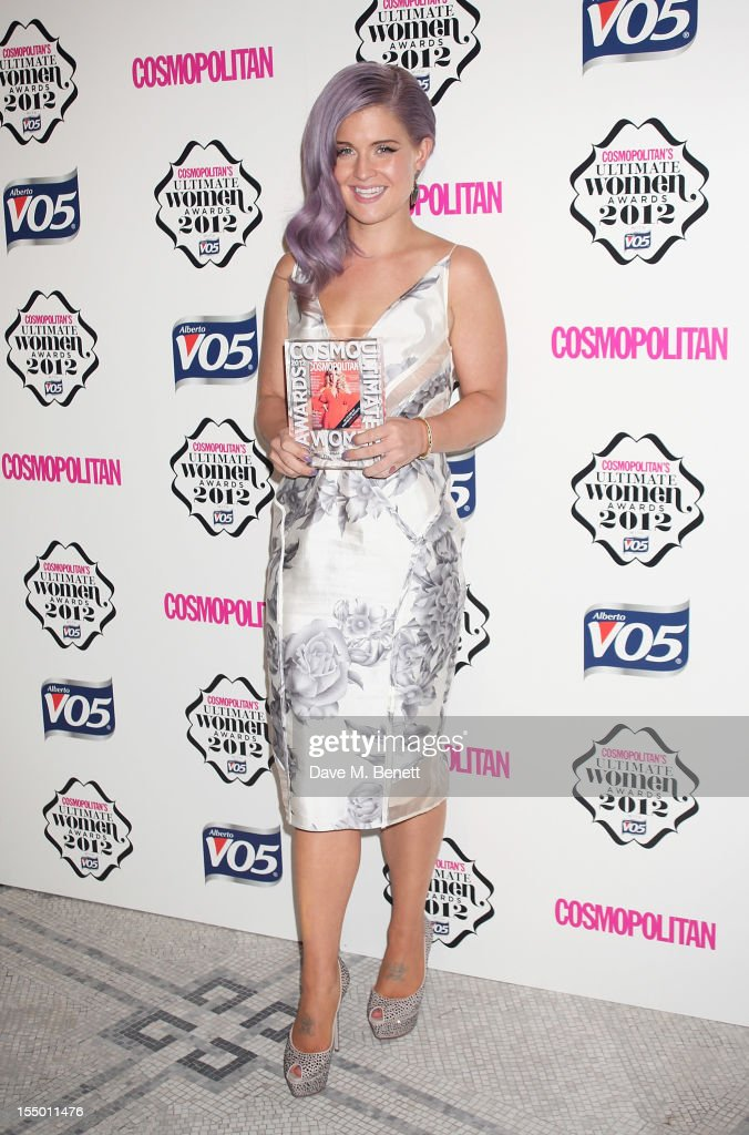 <a gi-track='captionPersonalityLinkClicked' href=/galleries/search?phrase=Kelly+Osbourne&family=editorial&specificpeople=156416 ng-click='$event.stopPropagation()'>Kelly Osbourne</a>, winner of the Ultimate VO5 Style Icon, poses in the press room at the Cosmopolitan Ultimate Woman of the Year awards at the Victoria & Albert Museum on October 30, 2012 in London, England.