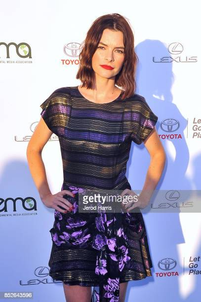 Kelly Oxford at the Environmental Media Association's 27th Annual EMA Awards at Barkar Hangar on September 23 2017 in Santa Monica California