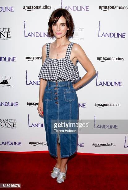 Kelly Oxford attends the premiere of Amazon Studios 'Landline' at ArcLight Hollywood on July 12 2017 in Hollywood California