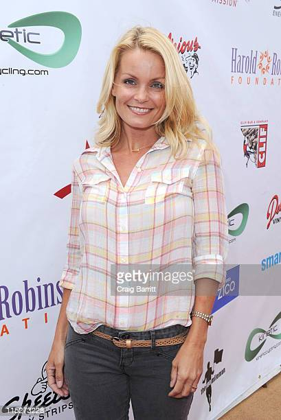 Kelly Packard attends the Harold Robinson Foundation Pedal On The Pier event at Santa Monica Pier on June 5 2011 in Santa Monica California