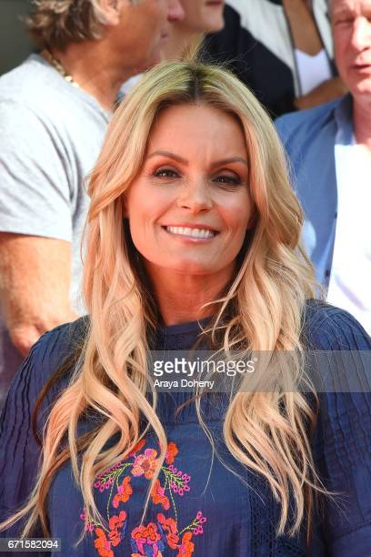 Kelly Packard attends the The 'Baywatch' SlowMo Marathon at Microsoft Square on April 22 2017 in Los Angeles California