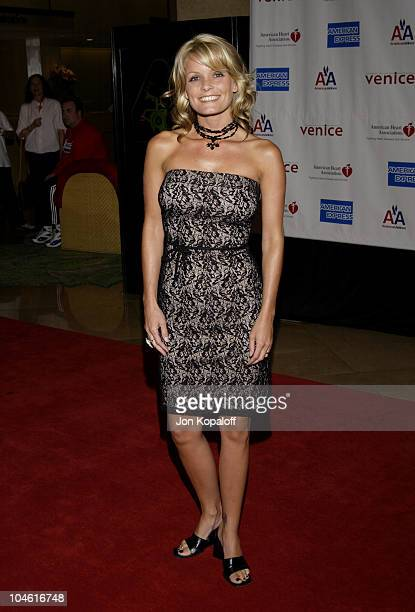 Kelly Packard during 1st Annual American Heart Awards 'Paint The Town Red' Gala to Benefit The American Heart Association at Beverly Hilton Hotel in...