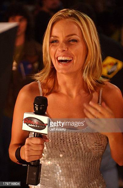 Kelly Packard for the Ripleys Believe it or Not TBS show filmed for the first time in front of Ripley's Believe it or Not on Hollywood Blvd in...