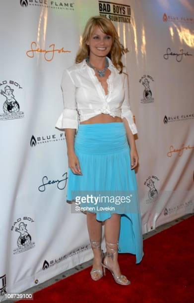 Kelly Packard from 'Ripley's Believe It Or Not' during 'Bad Boys II' Special Screening to Celebrate the Release of the Soundtrack After Party at The...