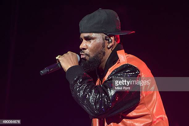 R Kelly performs in concert at Barclays Center on September 25 2015 in the Brooklyn borough of New York City