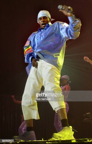 R Kelly performs live on stage at Ahoy Rotterdam Holland on September 14 2001