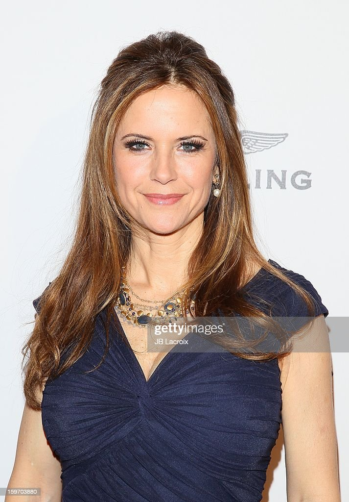 Kelly Preston attends the Living Legends Of Aviation Awards at The Beverly Hilton Hotel on January 18, 2013 in Beverly Hills, California.