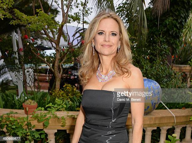 Kelly Preston attends the welcome party for Puerto Azul Experience Night at Villa St George on May 21 2014 in Cannes France