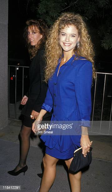 Kelly Preston during 'Phantom of the Opera' Los Angeles Opening Night at Ahmanson Theater in Los Angeles California United States