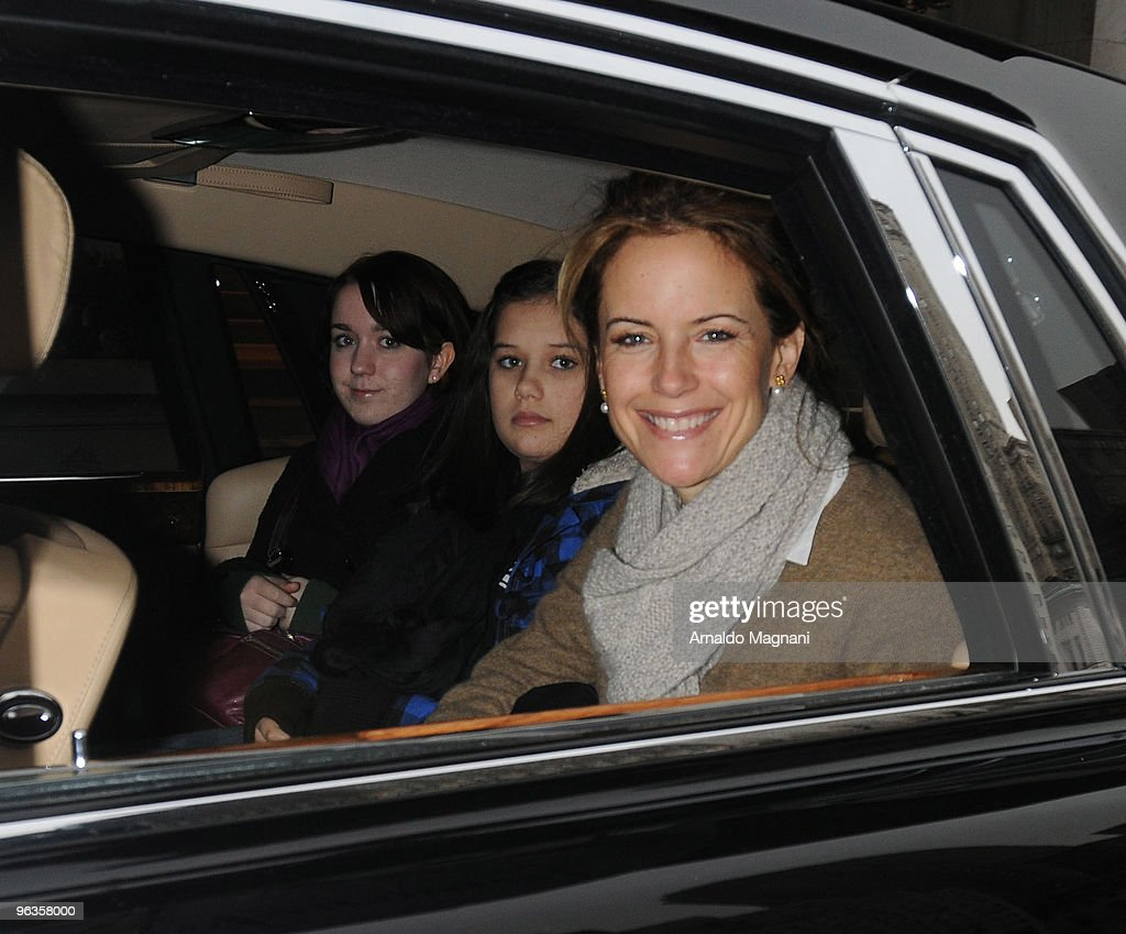 <a gi-track='captionPersonalityLinkClicked' href=/galleries/search?phrase=Kelly+Preston&family=editorial&specificpeople=159434 ng-click='$event.stopPropagation()'>Kelly Preston</a> with her daugther and a friend are seen leaving the hotel going shopping on February 2, 2010 in New York City.