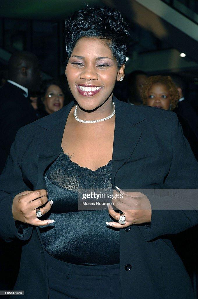 Kelly Price during 2006 Trumpet Awards - Arrivals at Georgia World Congress Center in Atlanta, Georgia, United States.