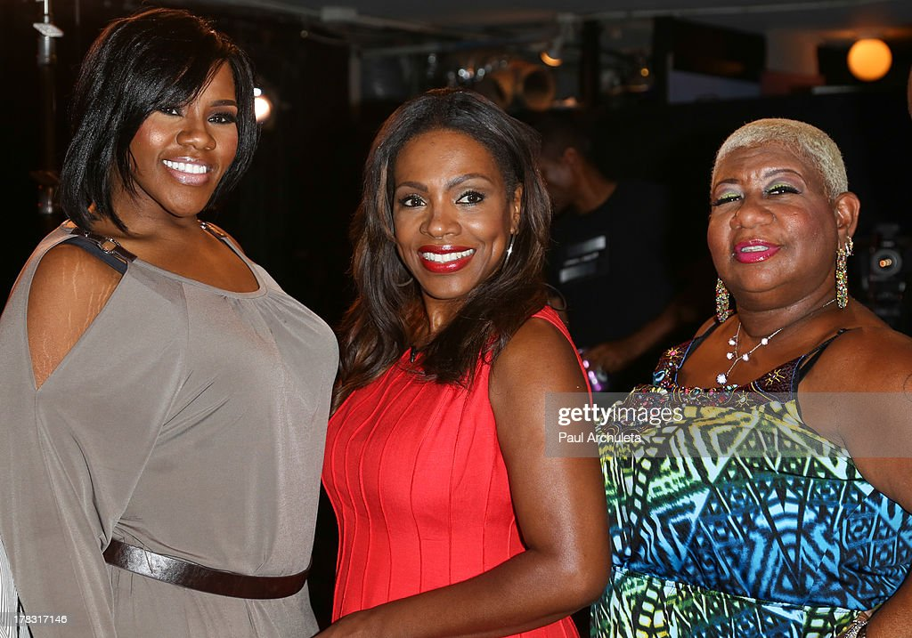 Kelly Price, <a gi-track='captionPersonalityLinkClicked' href=/galleries/search?phrase=Sheryl+Lee+Ralph&family=editorial&specificpeople=214083 ng-click='$event.stopPropagation()'>Sheryl Lee Ralph</a> and <a gi-track='captionPersonalityLinkClicked' href=/galleries/search?phrase=Luenell&family=editorial&specificpeople=2159262 ng-click='$event.stopPropagation()'>Luenell</a> attend the casting auditions for the new reality show 'Too Fat For Fame' at The Complex Hollywood on August 28, 2013 in Los Angeles, California.