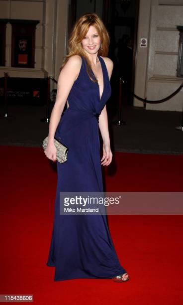 Kelly Reilly arrives at the Orange British Academy Film Awards 2008 held at the Royal Opera House on February 10 2008 in London England