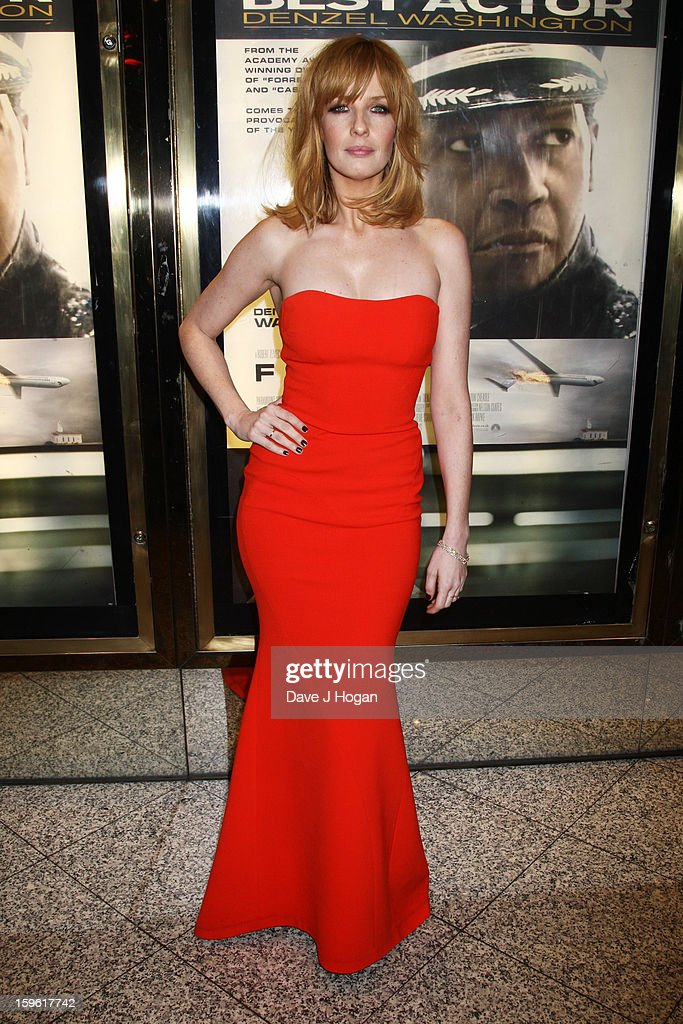 Kelly Reilly attends the UK premiere of 'Flight' at The Empire Leicester Square on January 17, 2013 in London, England.