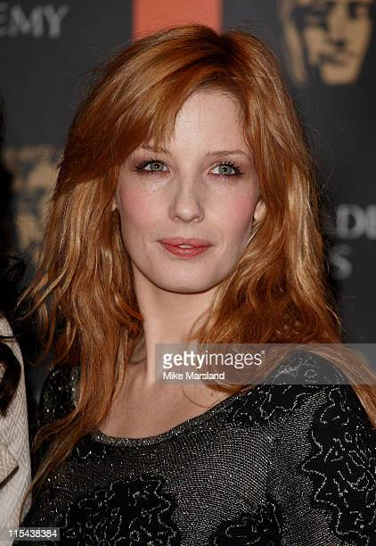 Kelly Reilly reveals which films and actors are nominated for the British Academy Film and Television Awards on January 16 2007 in London England...