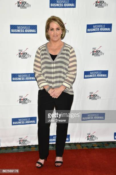 Kelly Rich of Amazon Music Nashville arrives at the 2017 Nashville Business Journal Women In Music City on October 17 2017 in Nashville Tennessee