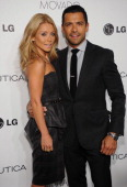 Kelly Ripa and Mark Consuelos attend the 2012 GQ Gentlemen's Ball presented by LG Movado and Nautica on October 24 2012 in New York City