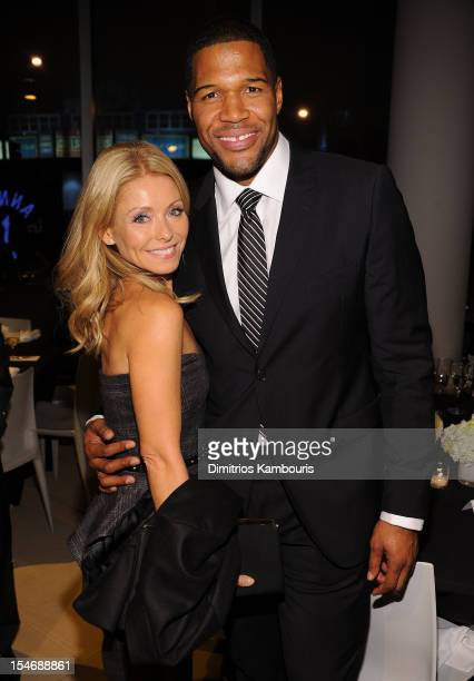 Kelly Ripa and Michael Strahan attend the 2012 GQ Gentlemen's Ball presented by LG Movado and Nautica on October 24 2012 in New York City
