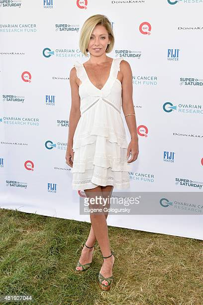 Kelly Ripa attends OCRF's 18th Annual Super Saturday NY CoSponsored by FIJI Water on July 25 2015 in Water Mill New York
