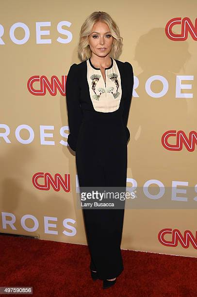 Kelly Ripa attends the '2015 CNN Heroes An AllStar Tribute' at American Museum of Natural History on November 17 2015 in New York City