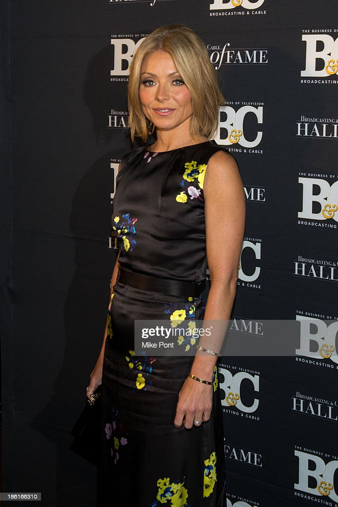 Kelly Ripa attends the Broadcasting and Cable 23rd Annual Hall of Fame Awards Dinner at The Waldorf Astoria on October 28, 2013 in New York City.