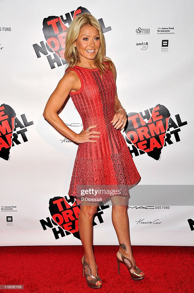 Kelly Ripa attends the Broadway opening night of 'The Normal Heart' at The Golden Theatre on April 27, 2011 in New York City.