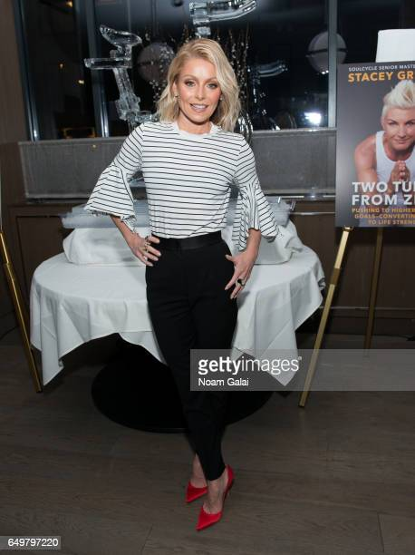 Kelly Ripa attends the 'Two Turns From Zero' book launch event at The Regency Bar and Grill on March 8 2017 in New York City
