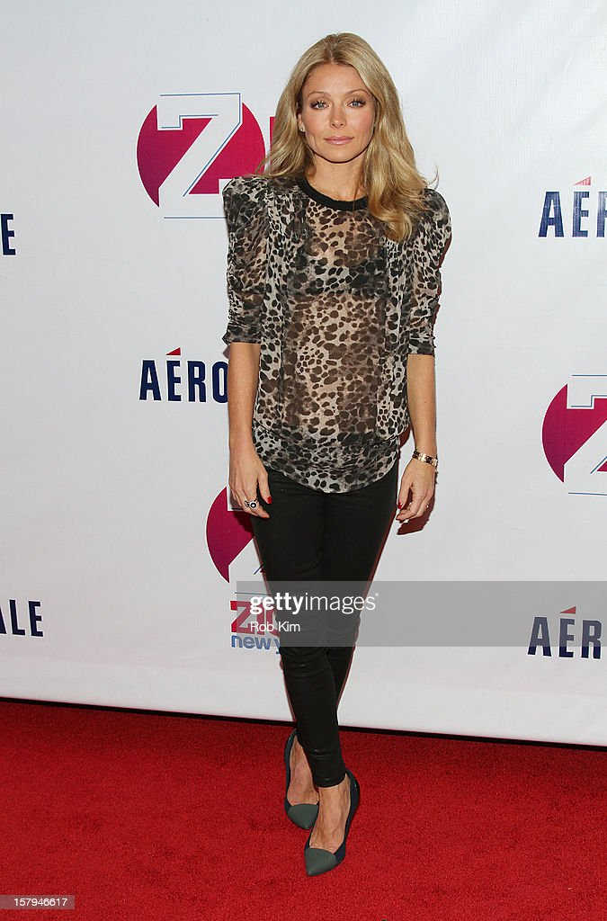 Kelly Ripa attends Z100's Jingle Ball 2012 presented by Aeropostale at Madison Square Garden on December 7, 2012 in New York City.