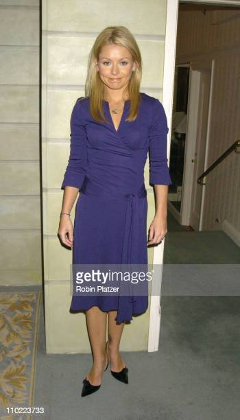 Kelly Ripa during 16th Annual PAL Women of The Year Luncheon honoring Kelly Ripa and Paula Zahn at The Pierre Hotel in New York City New York United...