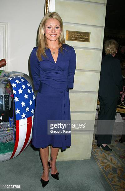 Kelly Ripa during 16th Annual Women of the Year Luncheon at The Pierre Hotel in New York City New York United States