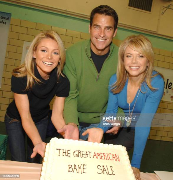 Kelly Ripa Ted McGinley and Faith Ford help support The Great American Bake Sale