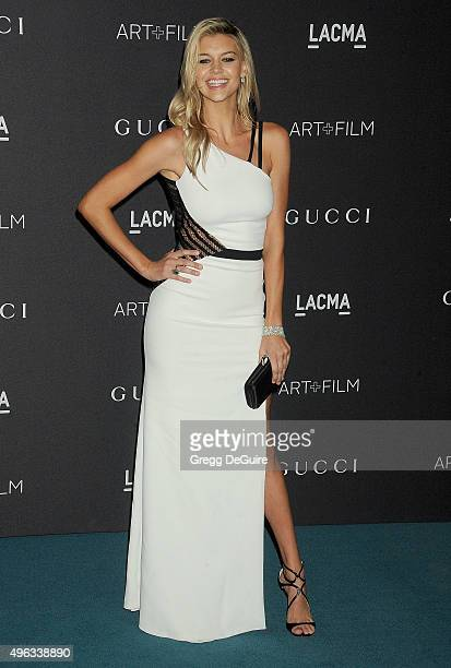 Kelly Rohrbach arrives at the LACMA 2015 ArtFilm Gala Honoring James Turrell And Alejandro G Inarritu Presented By Gucci at LACMA on November 7 2015...