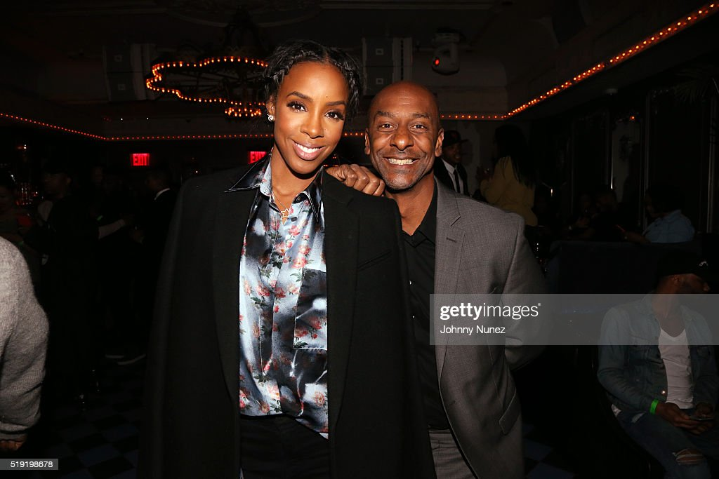 Kelly Rowland and Stephen Hill attend the 'Chasing Destiny' Premiere Party at 1OAK on April 4 2016 in New York City