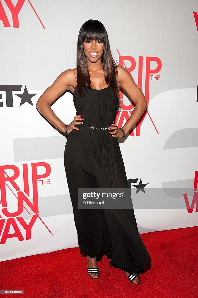 Kelly Rowland attends BET's Rip The Runway 2013 at Hammerstein Ballroom on February 27, 2013 in New York City.