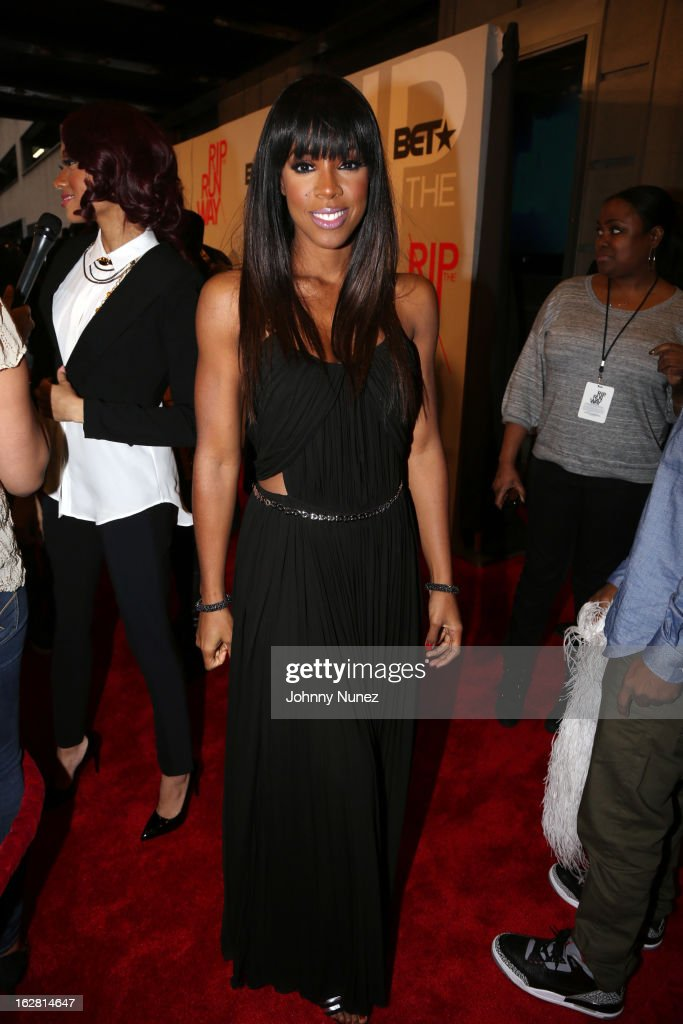 Kelly Rowland attends BET's Rip The Runway 2013 at Hammerstein Ballroom, on February 27, 2013, in New York City.