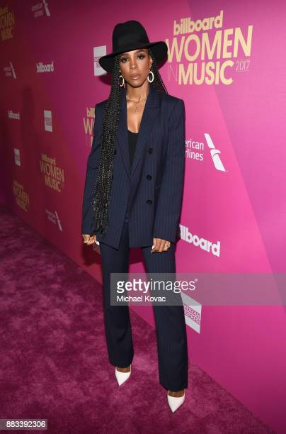 Kelly Rowland attends Billboard Women In Music 2017 at The Ray Dolby Ballroom at Hollywood Highland Center on November 30 2017 in Hollywood California
