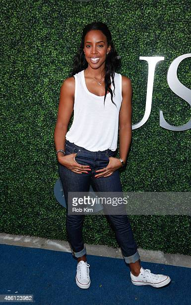 Kelly Rowland attends the 15th Annual USTA Opening Night Gala at USTA Billie Jean King National Tennis Center on August 31 2015 in New York City