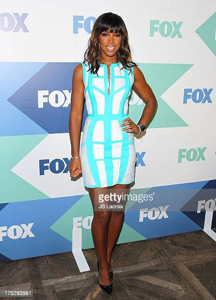 Kelly Rowland attends the 2013 Television Critics Association's Summer Press Tour FOX AllStar Party held at the Soho House on August 1 2013 in West...