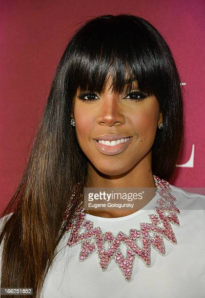 Kelly Rowland attends the 4th annual ELLE Women in Music Celebration at The Edison Ballroom on April 10 2013 in New York City