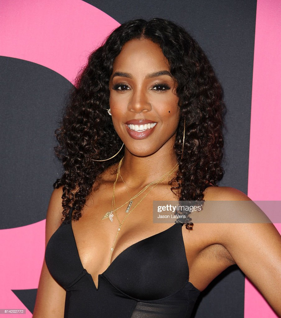 Kelly Rowland attends the premiere of 'Girls Trip' at Regal LA Live Stadium 14 on July 13, 2017 in Los Angeles, California.